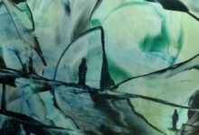 Anneke Woning WINNAAR in  de cat Abstract